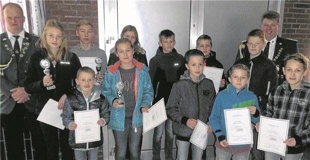 Gewinner Jugendpokalschiessen